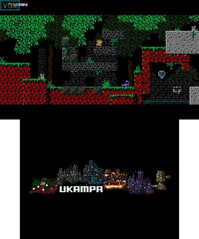 Image in-game du jeu 1001 Spikes sur Nintendo 3DS