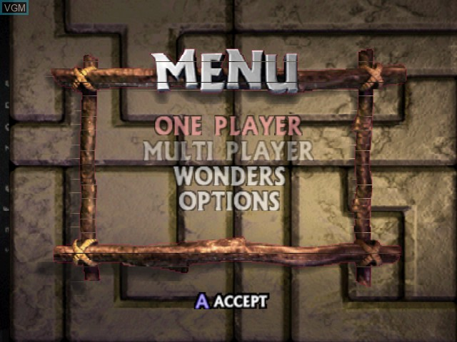Image du menu du jeu New Tetris, The sur Nintendo 64