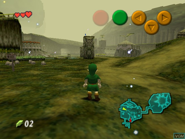 Legend of Zelda, The - Ocarina of Time - Master Quest