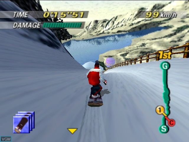 Image in-game du jeu 1080 Snowboarding sur Nintendo 64