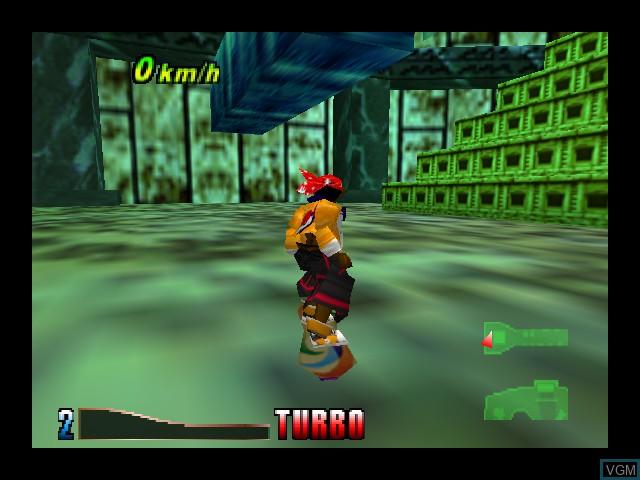 Image in-game du jeu Airboarder 64 sur Nintendo 64