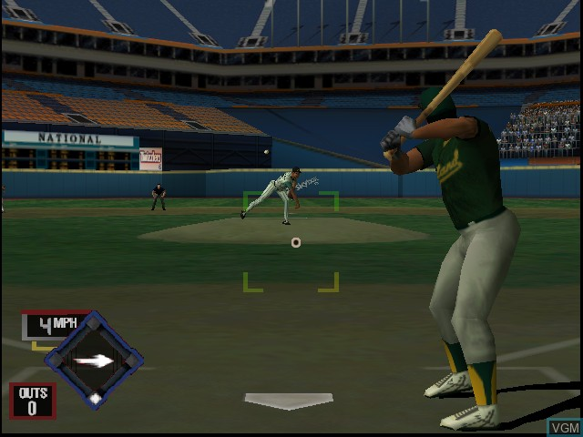 Image in-game du jeu All-Star Baseball 2001 sur Nintendo 64