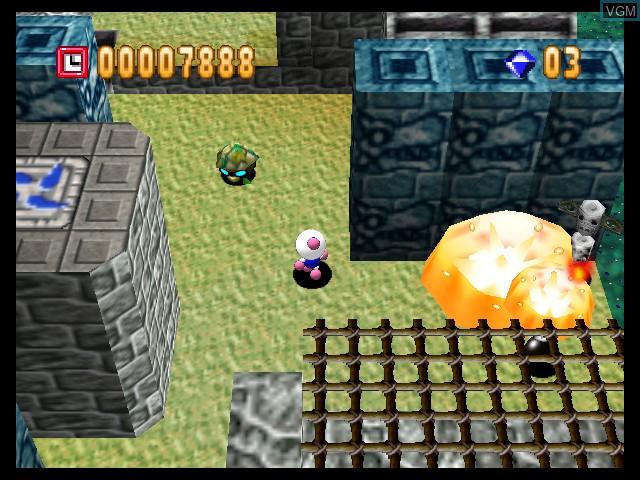 Image in-game du jeu Bomberman 64 sur Nintendo 64
