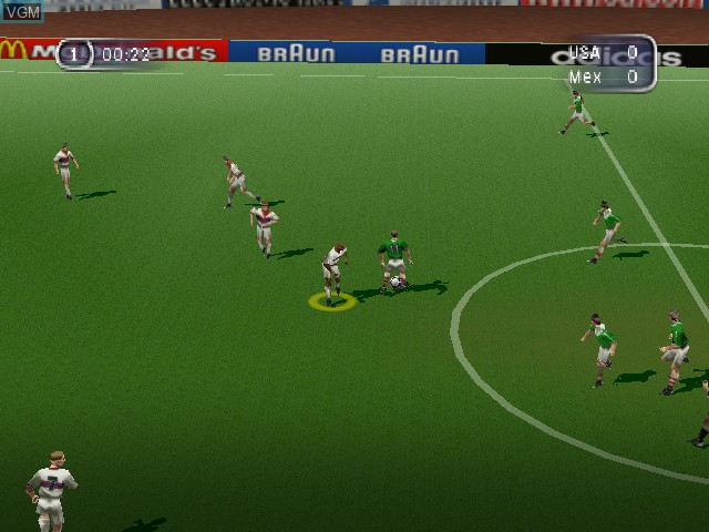 FIFA - Road to World Cup 98 - World Cup heno Michi