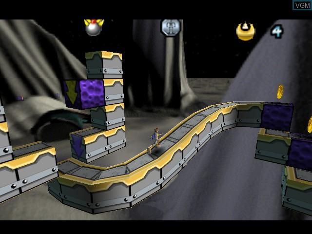 Image in-game du jeu Lode Runner 3-D sur Nintendo 64