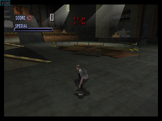 Tony Hawk's Skateboarding