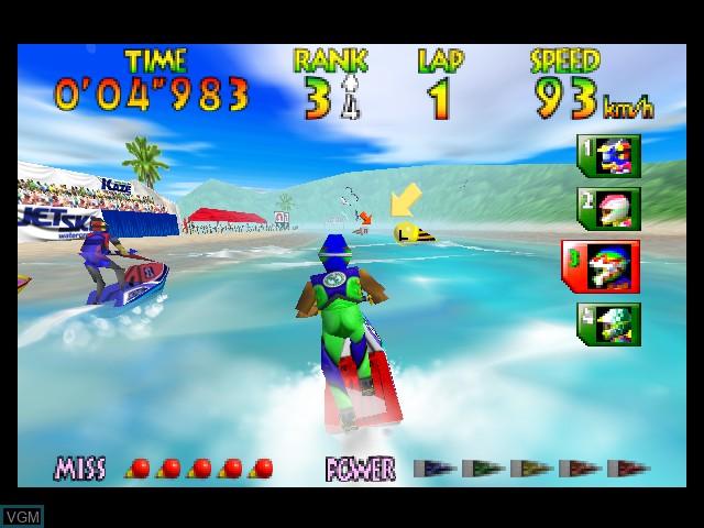 Wave Race 64 - Kawasaki Jet Ski