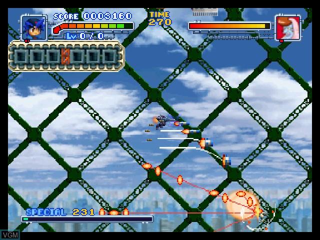 Image in-game du jeu Bakuretsu Muteki Bangaioh sur Nintendo 64