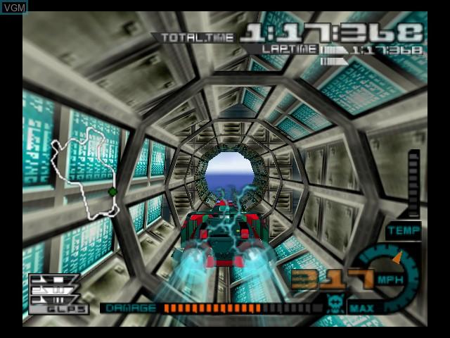 Image in-game du jeu AeroGauge sur Nintendo 64