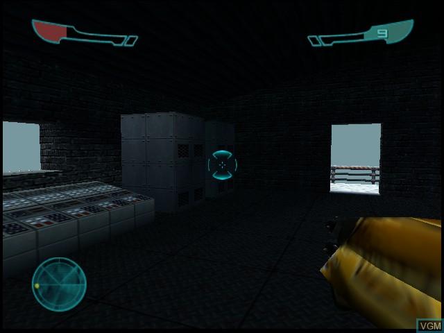 Image in-game du jeu Armorines - Project S.W.A.R.M. sur Nintendo 64