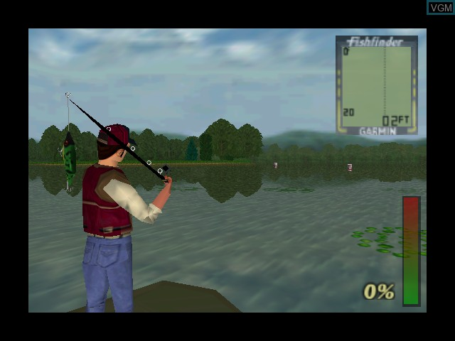 Image in-game du jeu Bass Hunter 64 sur Nintendo 64