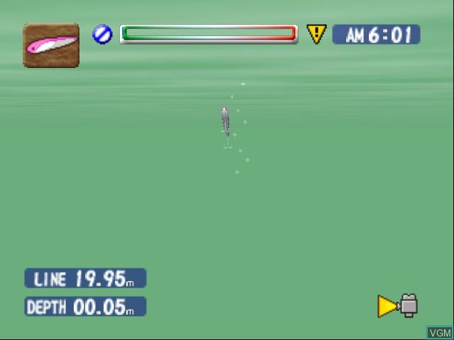 Image in-game du jeu Bass Rush - ECOGEAR PowerWorm Championship sur Nintendo 64