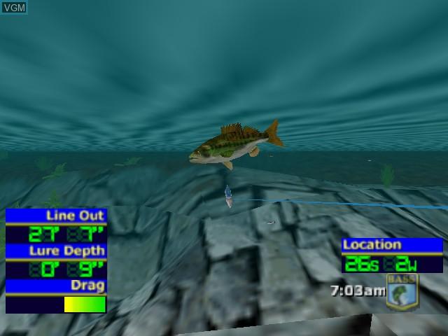 Image in-game du jeu Bassmasters 2000 sur Nintendo 64