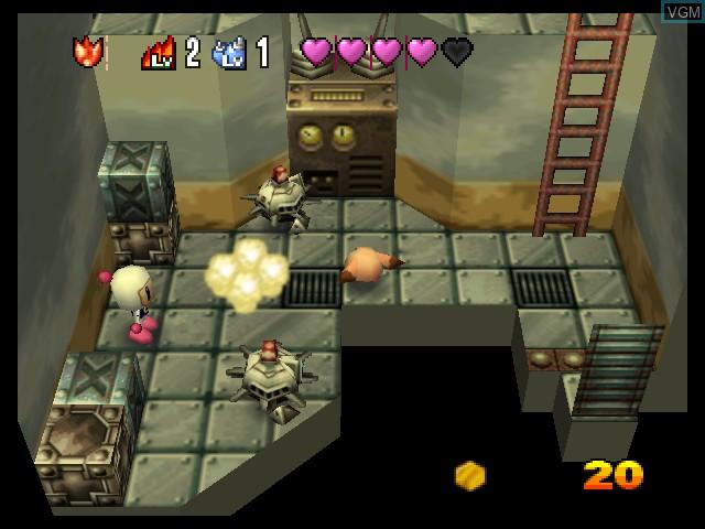 Image in-game du jeu Bomberman 64 - The Second Attack! sur Nintendo 64