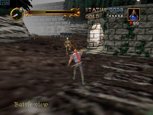 Image in-game du jeu Castlevania sur Nintendo 64
