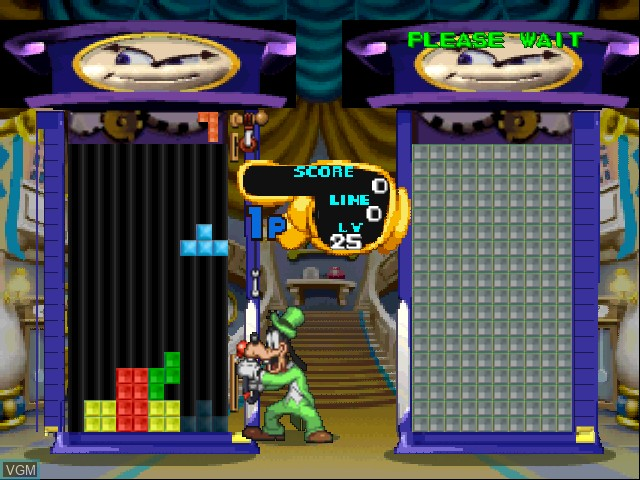 Image in-game du jeu Magical Tetris Challenge sur Nintendo 64