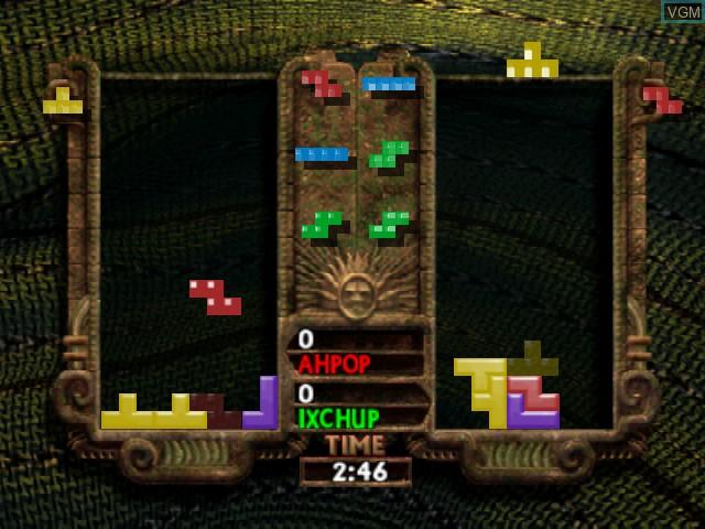 Image in-game du jeu New Tetris, The sur Nintendo 64