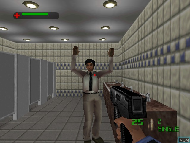 Image in-game du jeu 007 - The World is Not Enough sur Nintendo 64