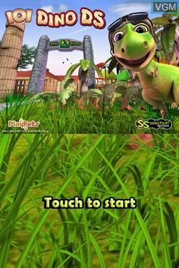 Image de l'ecran titre du jeu 101 Dino Pets sur Nintendo DS