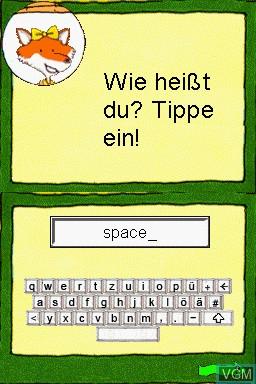 Image de l'ecran titre du jeu Grundschule - 1.-4. Klasse - Fit fuers Gymnasium - 2014 sur Nintendo DS