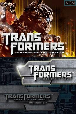 Image du menu du jeu Transformers - Ultimate Autobots Edition sur Nintendo DS