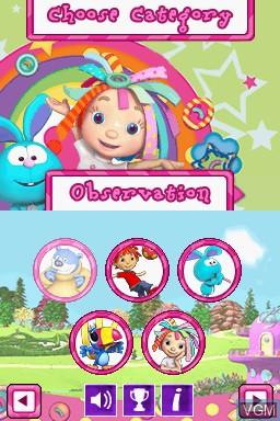 Image du menu du jeu Everything's Rosie sur Nintendo DS
