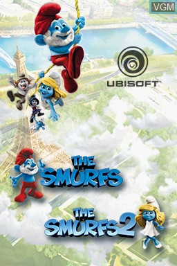 Image du menu du jeu Smurfs Collection, The sur Nintendo DS