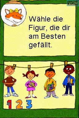 Image du menu du jeu Grundschule - 1.-4. Klasse - Fit fuers Gymnasium - 2014 sur Nintendo DS