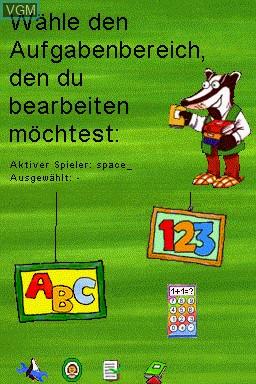 Image du menu du jeu Mathematik und Deutsch - 1.-4. Klasse - 2014 sur Nintendo DS