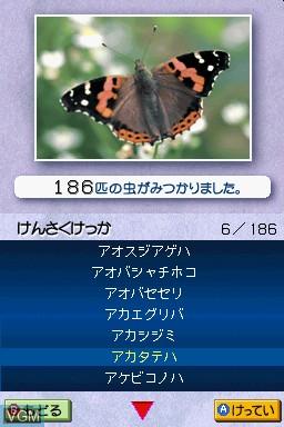 Quiz & Touch Kensaku - Mushi Zukan DS - Mushi o Sagasou Shirabeyou