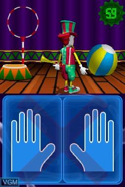 Image in-game du jeu Puzzler Brain Games sur Nintendo DS