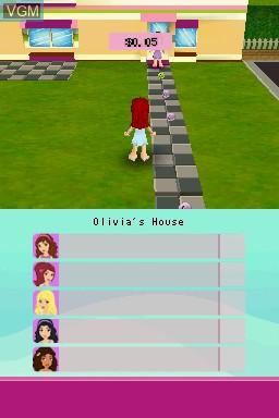 Image in-game du jeu LEGO Friends sur Nintendo DS