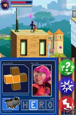 Image in-game du jeu Disney Big Hero 6 - Battle in the Bay sur Nintendo DS