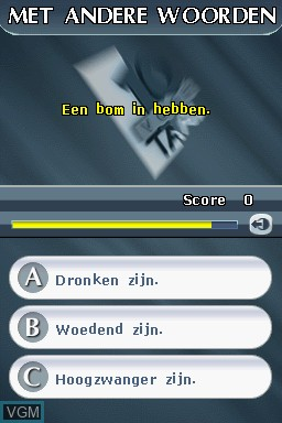 Image in-game du jeu 10 voor Taal sur Nintendo DS