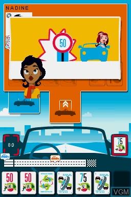 Image in-game du jeu 1000 Bornes - Coups-Fourres et Courses Folles! sur Nintendo DS