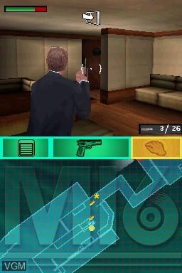 Image in-game du jeu 007 - Blood Stone sur Nintendo DS