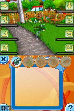 Image in-game du jeu Dino Pets - The Virtual Pet Game sur Nintendo DS