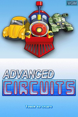 Image de l'ecran titre du jeu Advanced Circuits sur Nintendo DSi
