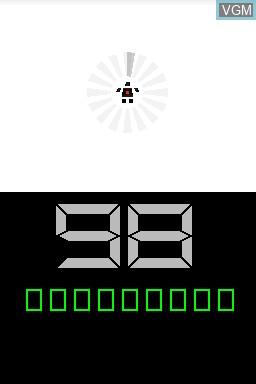 Image du menu du jeu 99Seconds sur Nintendo DSi