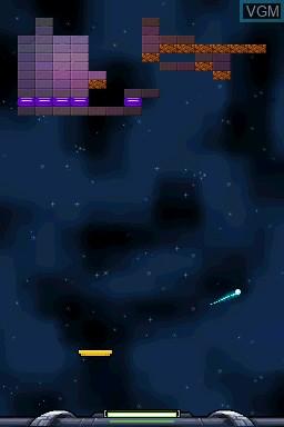 Image in-game du jeu AlphaBounce sur Nintendo DSi