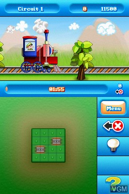 Image in-game du jeu Advanced Circuits sur Nintendo DSi