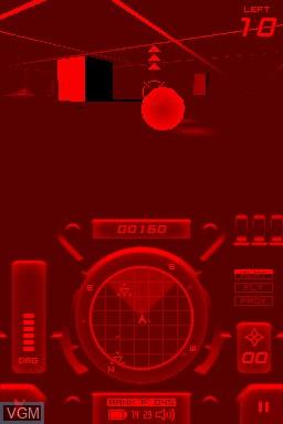 Image in-game du jeu 3D Space Tank sur Nintendo DSi