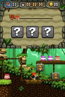 Image in-game du jeu Zoonies - Escape from Makatu sur Nintendo DSi