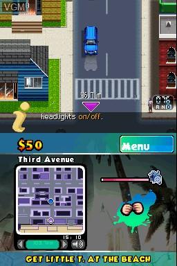 Image in-game du jeu Gangstar 2 - Kings of L.A. sur Nintendo DSi