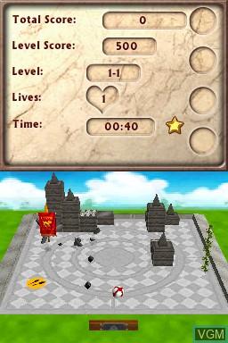 Image in-game du jeu 1001 Blockbusters sur Nintendo DSi