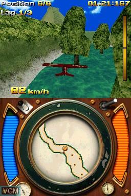 Image in-game du jeu AiRace sur Nintendo DSi