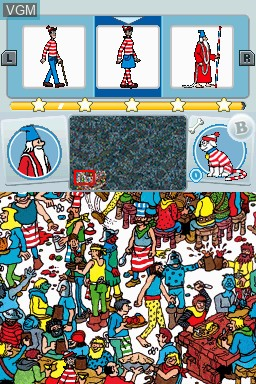 Image in-game du jeu Where's Wally - The Fantastic Journey - Travel Pack 1 sur Nintendo DSi