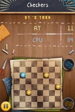 Image in-game du jeu Academy - Checkers sur Nintendo DSi