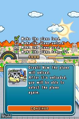 Image in-game du jeu Airport Mania - First Flight sur Nintendo DSi