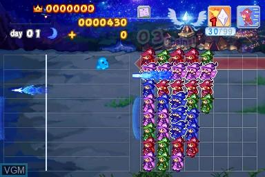Image in-game du jeu Wizard Defenders sur Nintendo DSi